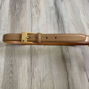 Ralph Lauren Italian Leather Beige Belt Size M